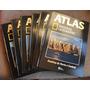 Atlas National Geographic - 6 Volumes + Quebra Cabeça Mundo