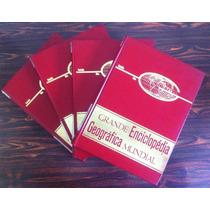 Livros Grande Enciclopédia Geográfica Mundial 4 Volumes