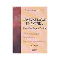 Livro Administração Financeira=masakazu Hoji=atlas Editora L