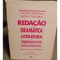 Novo Manual Nova Cultural Redaçao Gramatica Literatura Inter