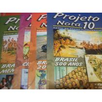 Projeto Nota 10 Brasil 500 Anos Memoria Ciencias 4 Volumes