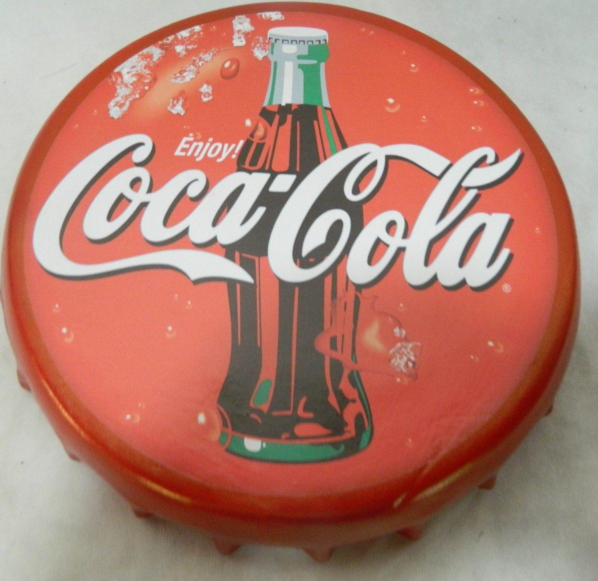 Enfeite De Gesso ~ Enfeite De Parede Em Gesso Coca Cola R$ 29,00 no MercadoLivre