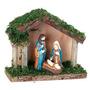Mini Presépio De Natal 12 X 10 Cm - Manjedoura Menino Jesus