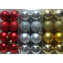Kit C/ 30 Bolas De Natal Várias Cores * Menor Preço*+brinde