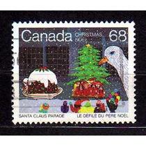 Canada 1985 * Desfile .de Natal * Árvore .by Barbara Carroll
