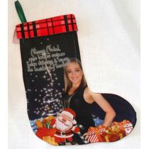 Bota Natalina! Enfeite De Natal - Porta, Árvore, Decoração!