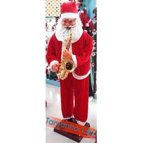 Papai - Noel Gigante Saxofonista Dançante C/ Sensor 1,80 M