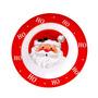 Prato Do Papai Noel Para Ceia De Natal E Decoração Natalina