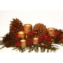 Pinhas, Faça Você Mesma Lindos Enfeites De Natal Com Pinhas