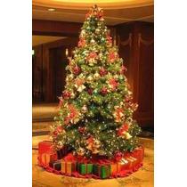 Árvore De Natal Verde Decorada 1,80m Com Pisca Led