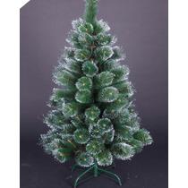 Árvore De Natal Pinheiro Luxo Nevada 1,20m C/90 Galhos