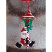 Promoção: Papai Noel Feito Em Biscuit Para Pendurar