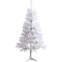 Árvore De Natal Pinheiro Branca 1,50m C/300 Galhos