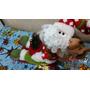 Enfeite De Natal Papai Noel No Treno 15 Cm