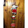 Guirlanda Natal Papai Noel Escada Vermelha Decoração Casa