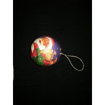 Bola De Natal 8 Cm Decorada Papail Noel Leve 12 Pague 10