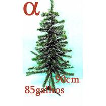 Árvore Natal Verde Nevada Pinheiro 90cm 85galhos+brinde.alfa
