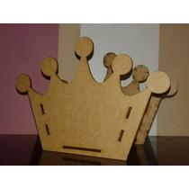 10 Cachepô Coroa De 14cm Mdf Lembrancinha Festa