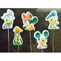 Toten Toppers Mickey,minnie, Pateta,margarida E Pato Donald