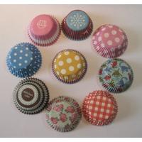 Cupcakes Formas De Papel Importadas(500unid)