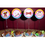 50 Toppers Cachorrinhos,pet Shop,veterinaria, Personalizados