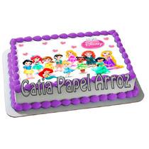 Princesas Baby - Papel Arroz A4 Comestível - Pode Retirar