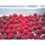 Confeitos De Açúcar Comestíveis - 100 Rosas Pequena