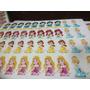 Princesas Papel Arroz 40 Unidades Mini Cupcake