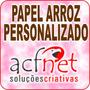 Papel Arroz Personalizado C/ Temas - Foto Bolo - Arte Grátis