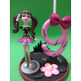 Vela Topo De Bolo Monster High - Draculaura