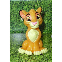 Miniatura Em Biscuit Simba (o Rei Leão)