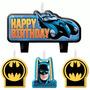 Vela De Aniversário Batman 04peças No Pacote R$39,90