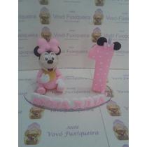 Topo De Bolo Minnie Baby E Topo De Bolo Mickey Baby