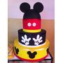 Bolo Fake Minie Mickey