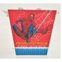 20 Caixa Sushi Homem Aranha Personalizada Aniversário