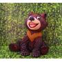 Miniatura Em Biscuit Ursinho Koda ( Irmão Urso)