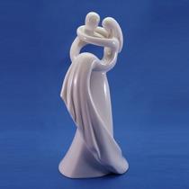 Topo De Bolo Noivinhos Porcelana No Colo 18 Cm
