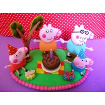 Topo De Bolo Peppa Pig Aniversário