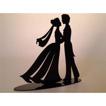Topo De Bolo Acrílico Decoração Casamento Noivado Noiva