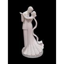 Topo De Bolo Importado - Porcelana - Noivinhos - Casamento