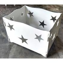 Caixa Presente Desmontável Mdf Festa Infantil Estrela