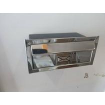 Caixa De Correio Inox 28x15cm Para Cartas E Impressos