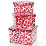 Conjunto Com 3 Caixas Organizadoras Pinguim In Love