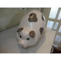 #10951 - Cofre Porco Cerâmica, Gigante!!!