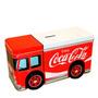 Cofre Coca Cola Caminhão De Metal Galvanizado