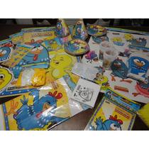 Kit Festa Decoração Galinha Pintadinha Especial 24 Crianças