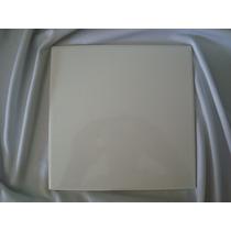 Azulejo Branco De Cerâmica 20x20 Cm Resinado