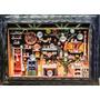 Cozinha Mineira Gg / 90 X 65 /quadro De Miniaturas Novo