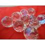 10 Esferas Cristal 40 Cm Montagem De Lustre