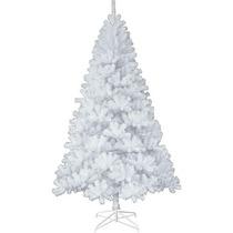 Árvore Natal Pinheiro Canadense Branco De Luxo 150cm 1.50m